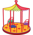 Roundabout vector image