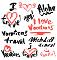 travel 380 vector image vector image