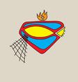 Jesus is Hero Logo vector image