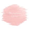 Watercolor peach color strokes vector image