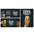 beer tap vintage engraving vector image vector image