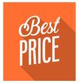 Best Price Banner vector image vector image