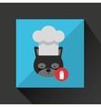 chef animal design vector image