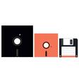 Floppy Disks vector image