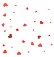 heart confetti valentines womens mothers day vector image