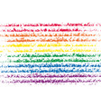 lgbt pride flag color vector image