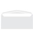 White envelope vector image