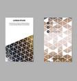 Brochure design template flyers report for