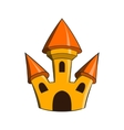 Castle icon in cartoon style vector image vector image
