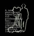 cinema print vector image vector image