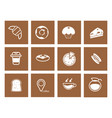 coffee icon 9 vector image vector image