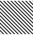diagonal striped background - black and vector image vector image