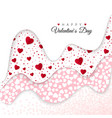 happy valentines day holiday decoration elements vector image vector image