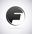 Logo for letter F vector image vector image