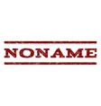 Noname Watermark Stamp vector image vector image