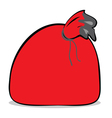 Sack isolated vector image vector image