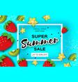 slice of kiwi and carambola strawberry and banana vector image vector image