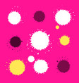 stains on pink background vector image vector image