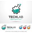 tech lab logo template