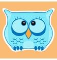Funny cute animal owl Owl vector image