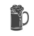 beer mugs glyph icon vector image