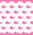 cute pattern with fish vector image
