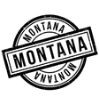 Montana rubber stamp vector image vector image