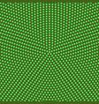 retro color halftone circular dot pattern vector image vector image