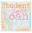 Why Consolidate Student Loans text background vector image vector image