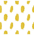 yellow embroidered rough dots pattern vector image vector image