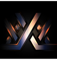 XXX abstract background vector image