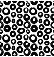 circle grunge seamless pattern vector image vector image