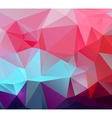 Colorful abstract triangular geometric vector image vector image