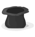 hat beggar vector image