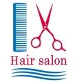 symbol barbershop vector image