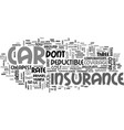 which is the cheapest car insurance rate text vector image vector image