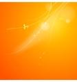 Warm sun light vector image