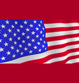 bright usa flag background vector image vector image