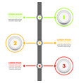 business infographic template modern infographics vector image