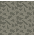 dark vintage seamless texture with lots moths vector image