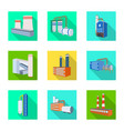 design construction and equipment icon vector image