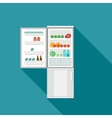 Fridge icon vector image vector image