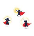 kids super concept icon design vector image