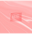 pastel red marble texture background vector image vector image