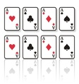 Play cards vector image