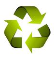 recycle symbol vector image