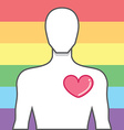 symbol a victory for equality same-sex marriage vector image