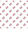 wrapped candy pattern vector image vector image