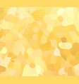 yellow beige spotted background vector image vector image