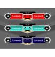 sport icons scoreboard vector image